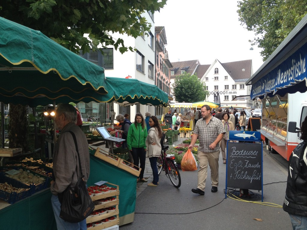 Food Market in Bregenz